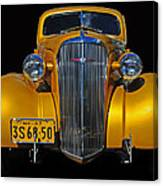 Golden Chevrolet Canvas Print
