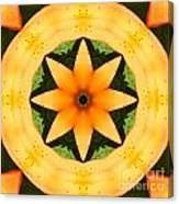 Golden Flower 2 Canvas Print
