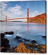 Golden Gate At Dawn Canvas Print