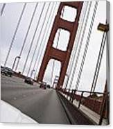 Golden Gate Bridge San Francisco California Usa Canvas Print