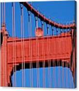 Golden Gate Bridge Summit Canvas Print