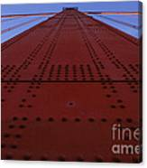 Golden Gate Bridge Vertical Canvas Print