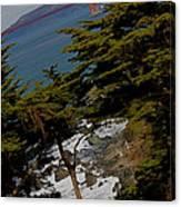 Golden Gate II Canvas Print