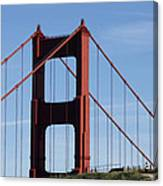 Golden Gate North Tower Canvas Print
