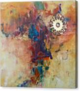 Golden Gears Canvas Print