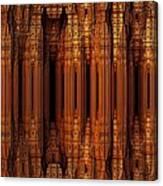 Golden Gothic Canvas Print