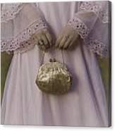 Golden Handbag Canvas Print