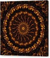 Golden Mandala 1 Canvas Print