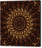 Golden Mandala 3 Canvas Print