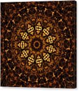 Golden Mandala 6 Canvas Print