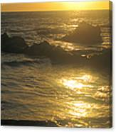 Golden Maui Sunset Canvas Print