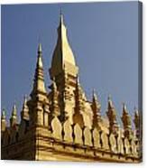 Golden Palace Laos 2 Canvas Print