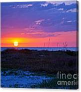 Golden Sun Canvas Print
