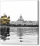 Golden Temple India Canvas Print