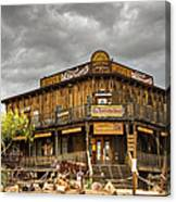Goldfield Ghost Town - Peterson's Mercantile  Canvas Print