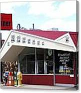Goldie's Route 66 Diner  Canvas Print