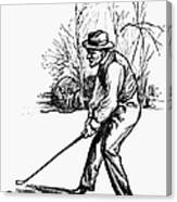 Golf, C1920 Canvas Print