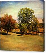 Golf Course II Canvas Print