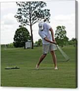 Golf Swing Canvas Print