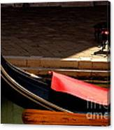 Gondola with Chairs Canvas Print