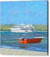 Gone Ashore Canvas Print