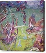 Good Morning Fairies Canvas Print