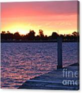 Good Morning From Marysville Michigan Usa Canvas Print
