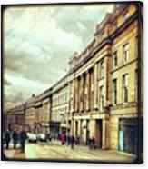 Good Morning! #newcastle #greystreet Canvas Print