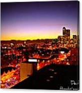 Good Night Mile High Canvas Print