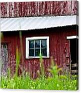 Good Ole Red Barn Canvas Print