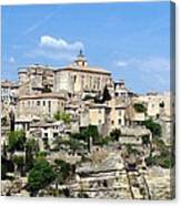 Gordes In Provence Canvas Print