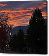 Gorgeous Sunrise On G Street Canvas Print