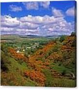 Gortin Valley, Co Tyrone, Ireland Canvas Print