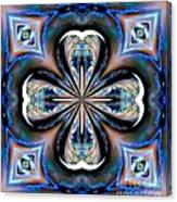 Gothic Blues Canvas Print