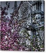 Gothic Paris Canvas Print