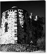 Gothic Tower Of The City Observatory Edinburgh Scotland Uk United Kingdom Canvas Print