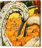 Gourd Heart Canvas Print