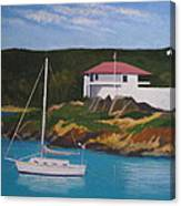 Government House At Cruz Bay Canvas Print