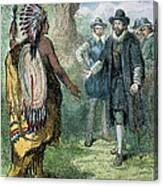 Governor John Winthrop Canvas Print