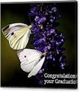 Graduation Congratulations Canvas Print