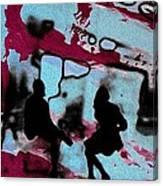 Graffiti - Urban Art Serigrafia Canvas Print