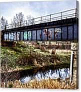 Graffiti Bridge Canvas Print