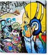 Graffiti Jammin' Canvas Print
