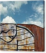 Graffiti Monster Canvas Print