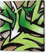 Graffiti Painting Canvas Print