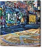 Graffiti Playground Canvas Print