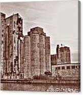 Grain Elevators St Canvas Print