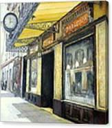 Gran cafe Zaragoza Canvas Print