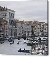 Gran Canal. Venice Canvas Print