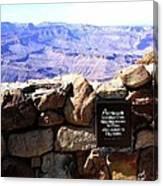 Grand Canyon 35 Canvas Print